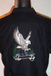 Work Shirt Eagle with America by Field & Stream