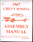Assembly Manual Chevy II/Nova 1963 to 1972