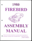 Assembly Manual Pontiac Firebird 1969 and 1980
