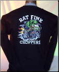 Rat Fink Choppers Long Sleeve T-shirt