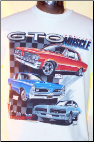 GTO Muscle - White T Shirt