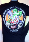 Who's Your Daddy Clown Long Sleeve T-shirt