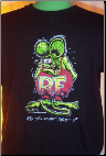 Rat Fink on Black with Signature Youth