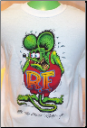 Rat Fink on White Youth T-Shirt
