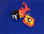 8 Ball Antenna Topper