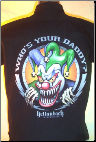 Who's Your Daddy Clown Work Shirt
