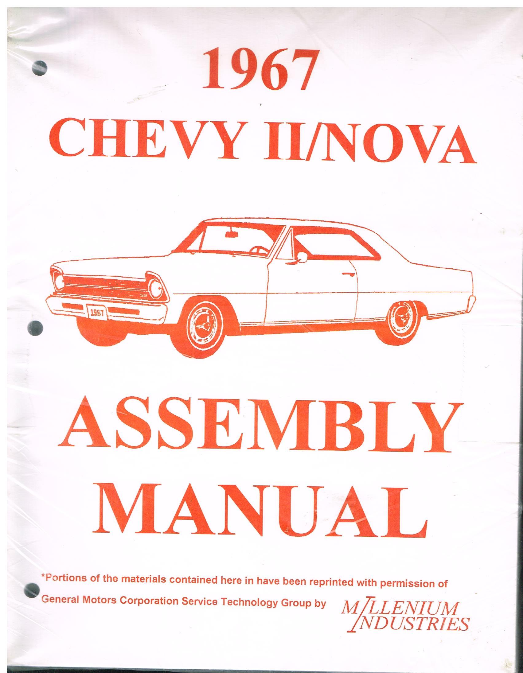 Assembly Manual Chevy II/Nova 1963 to 1972